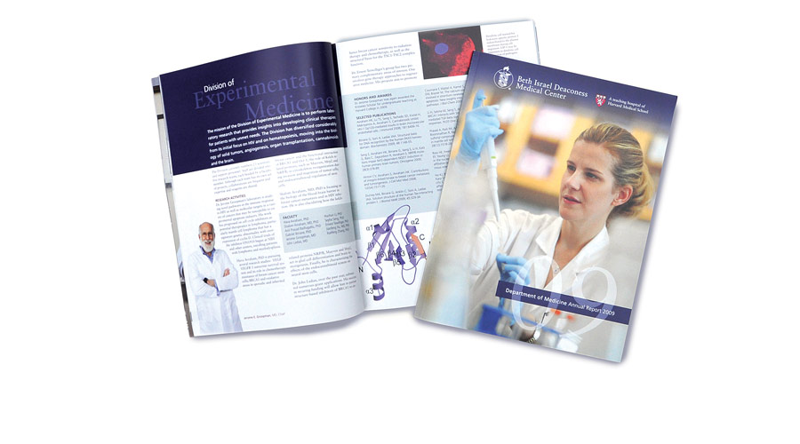 Hospital Annual Report Design