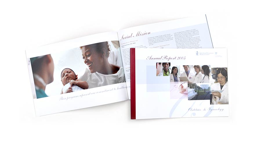 OBGYN Hospital Annual Report Design