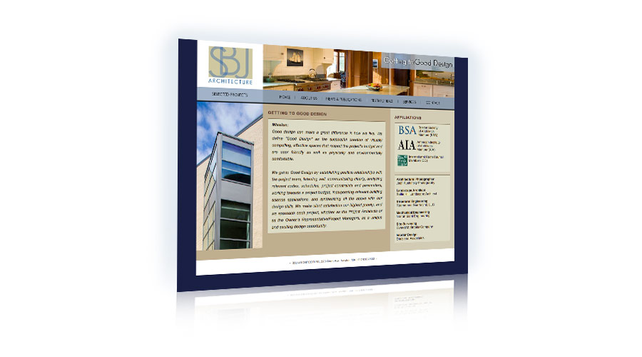 Architect Web Site